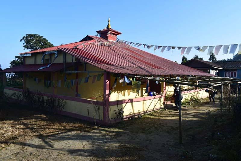 monastery in darjeeling