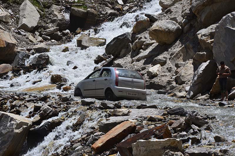 water crossing on batal gramphu road