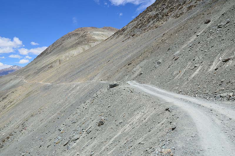 road to chandratal