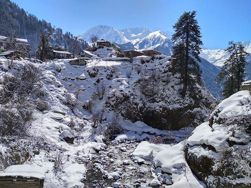 Parvati Valley Trip Itinerary