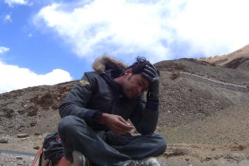 acute mountain sickness in spiti valley