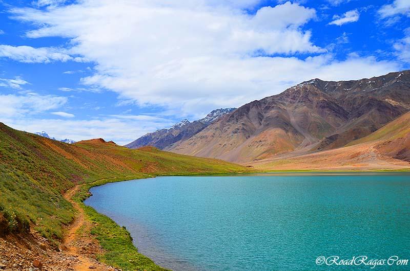 beautiful lake in spiti valley