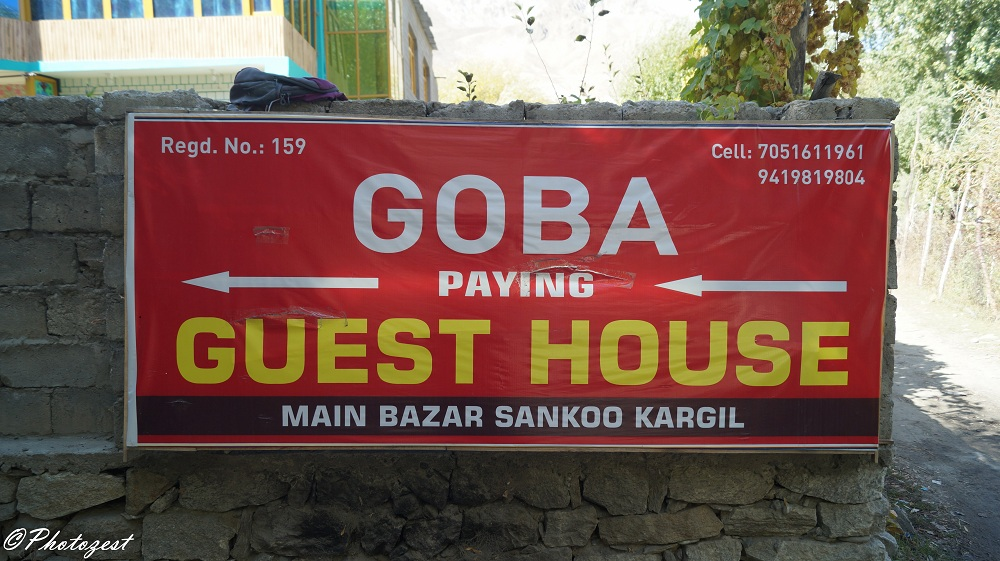 where to stay in suru valley