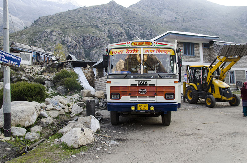 bus service in spiti