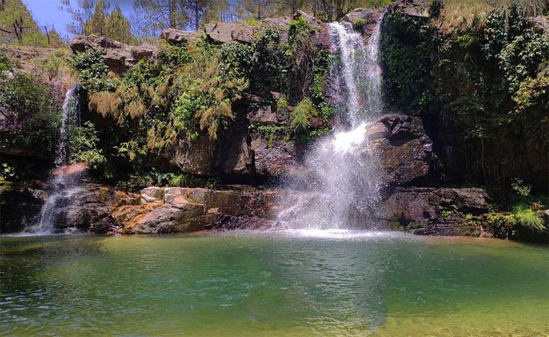 kali taal waterfall