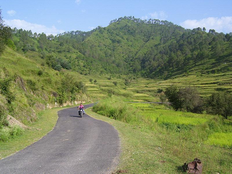 road trip to chaukori