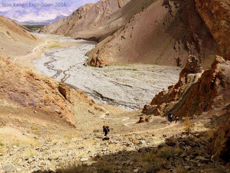 leh to stok village to chang ma