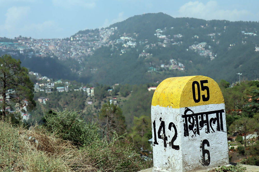 how to reach shimla