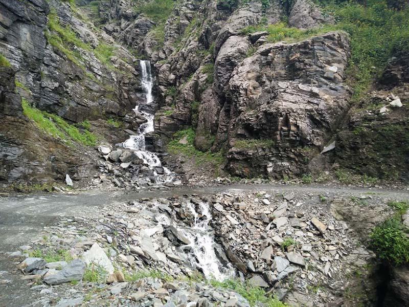 pangi water crossing