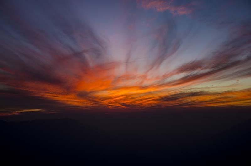 sunset view from kali ka tibba