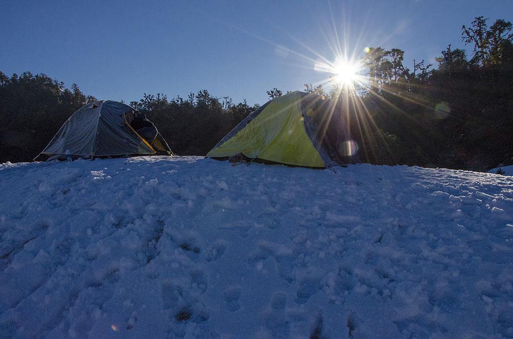 camping at deoria tal