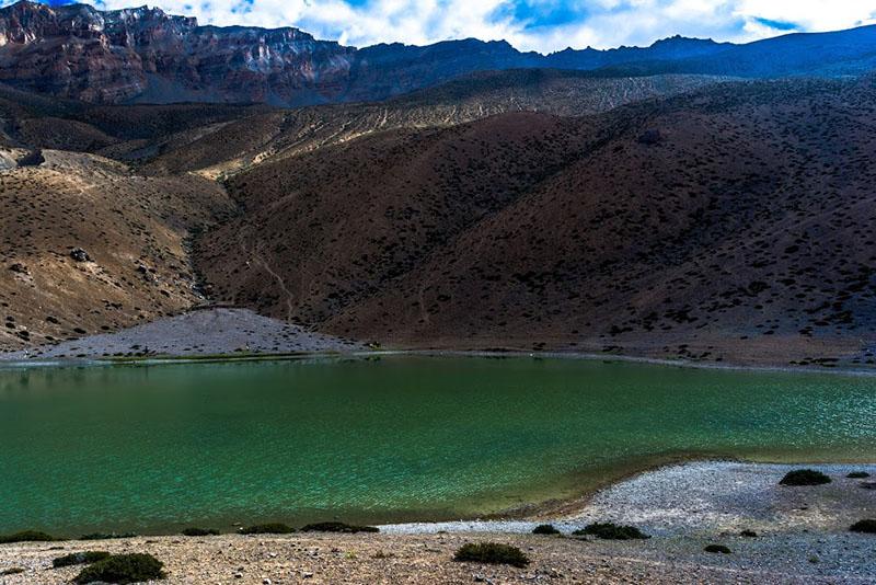 trek to dhankar lake
