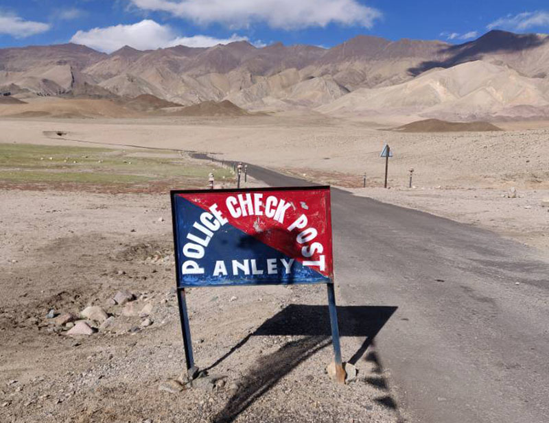 hanle police check post