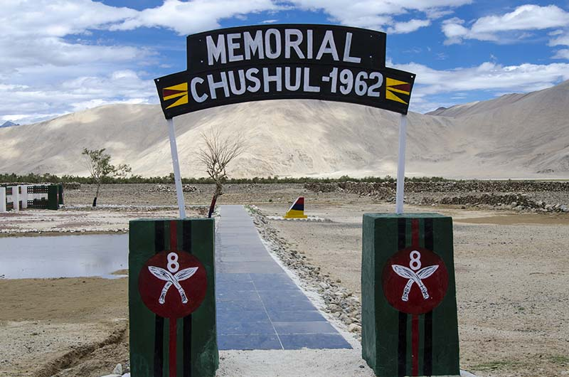 chushul war memorial