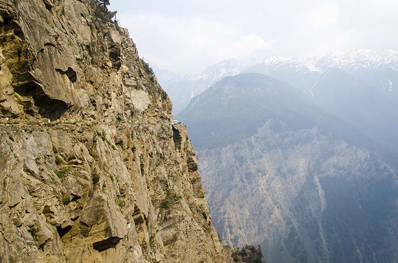 places to visit in kalpa - suicide point