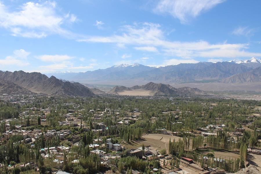 View of the Leh City
