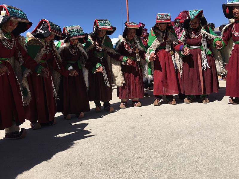 local dance of ladakh
