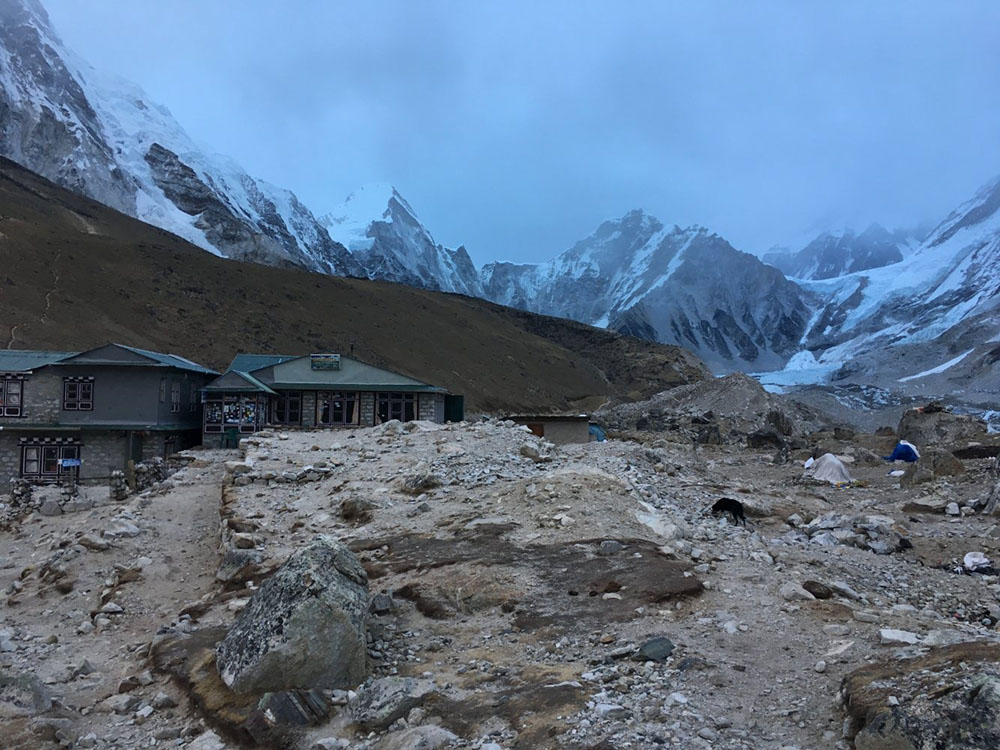 solo trek to everest base camp