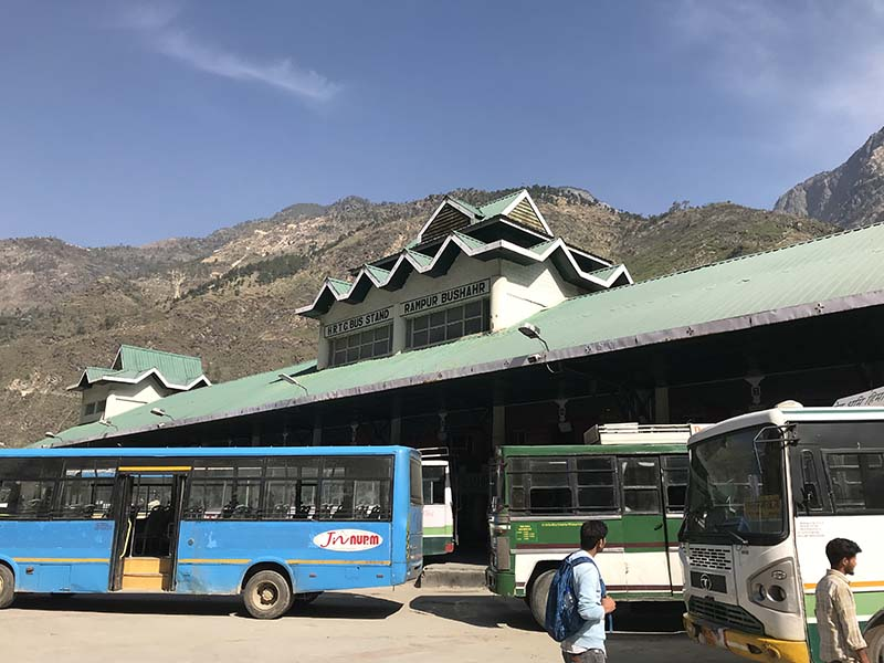 rampur bus stand