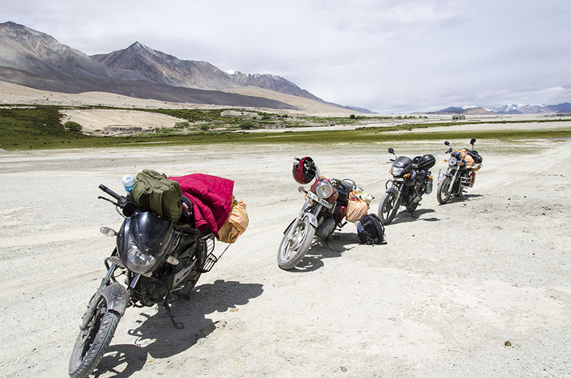 bike trip to leh cost