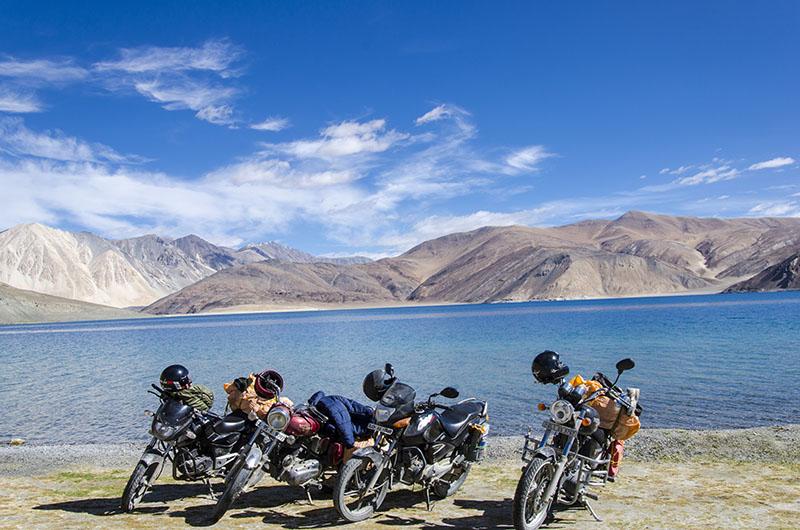 ladakh bike trip with pillion