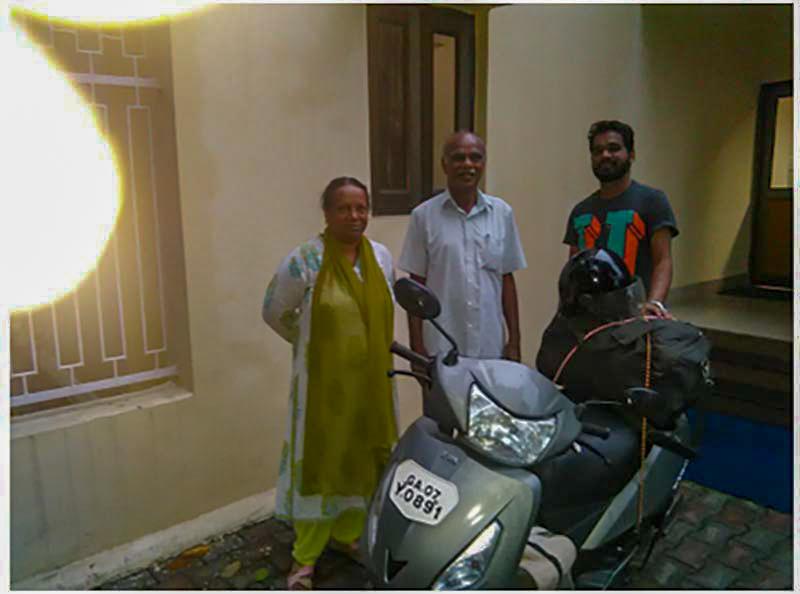 leh ladakh on scooter