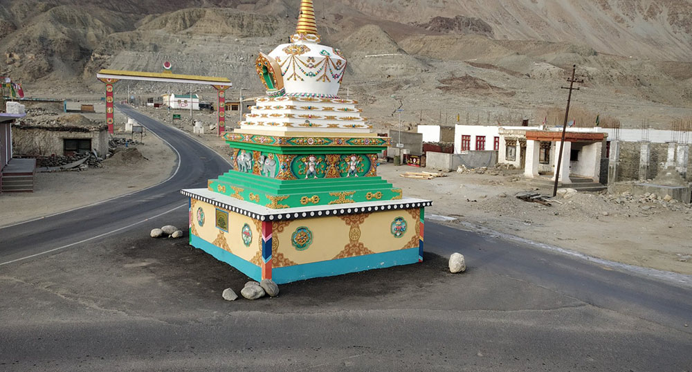 agham shyok road