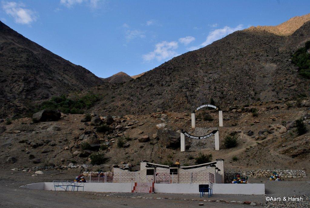 Harka Bahadur memorial