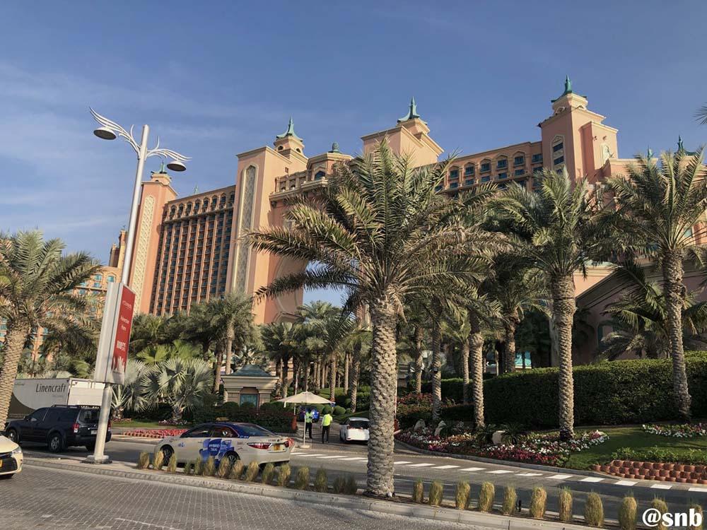 Palm Jumeirah and Atlantis the Palm