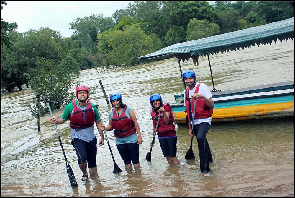 boat rafting in madikeri
