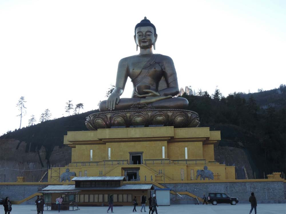 buddha at thimpu