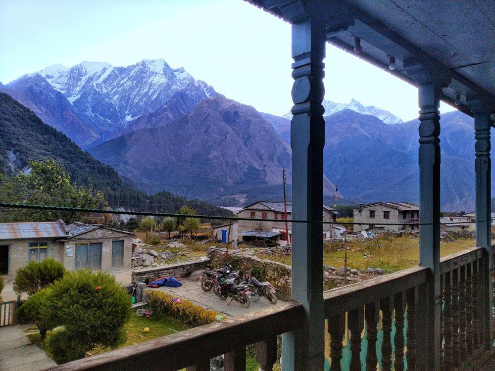 nepal bike trip