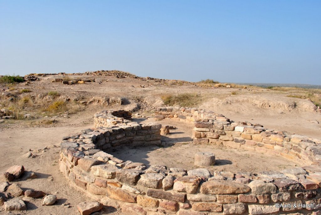 Harappan excavation site