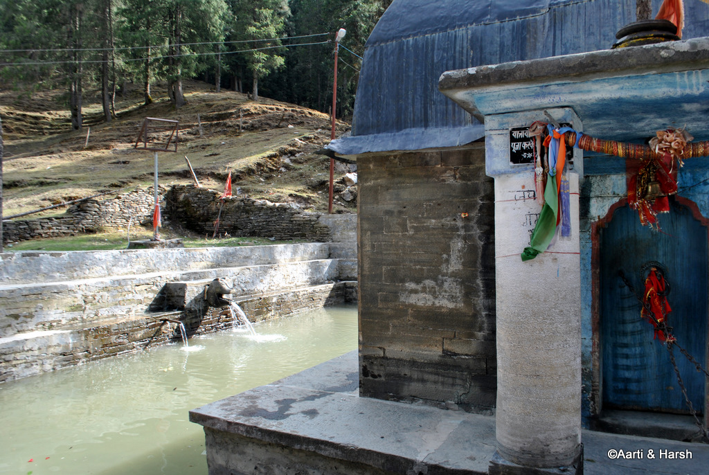 The Giri Ganga temple complex