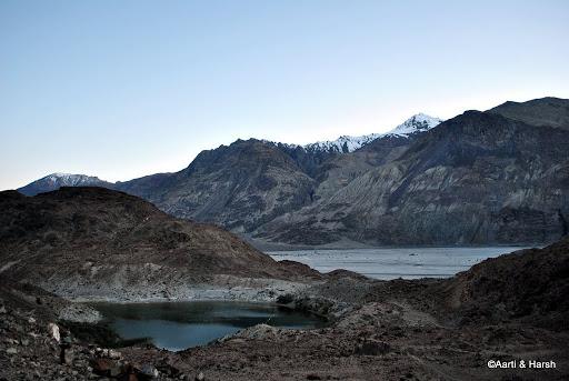 wishing pond close to Panamik