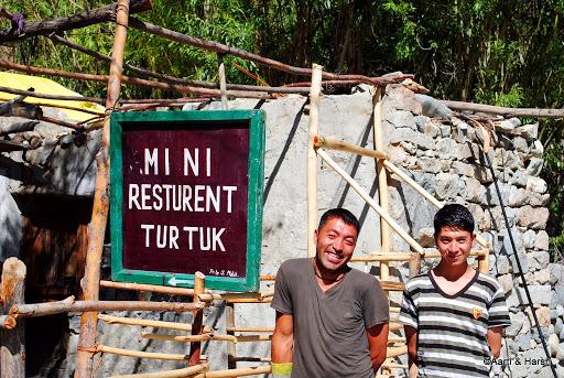 villagers in turtuk