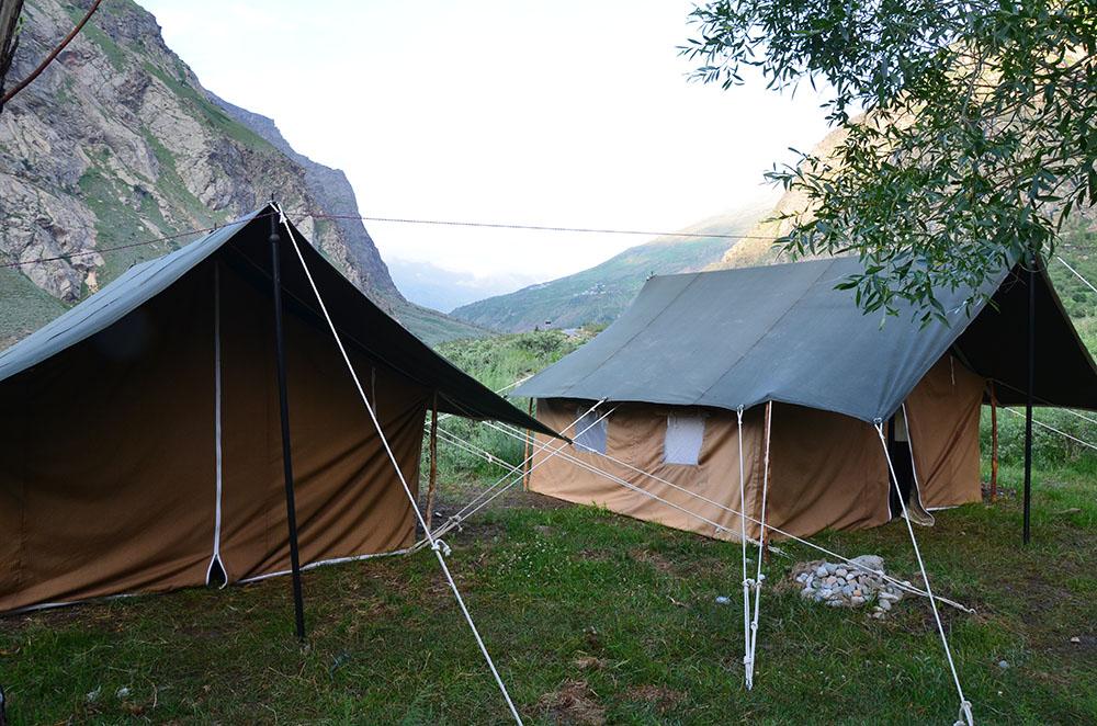 Camping on Manali Leh Highway