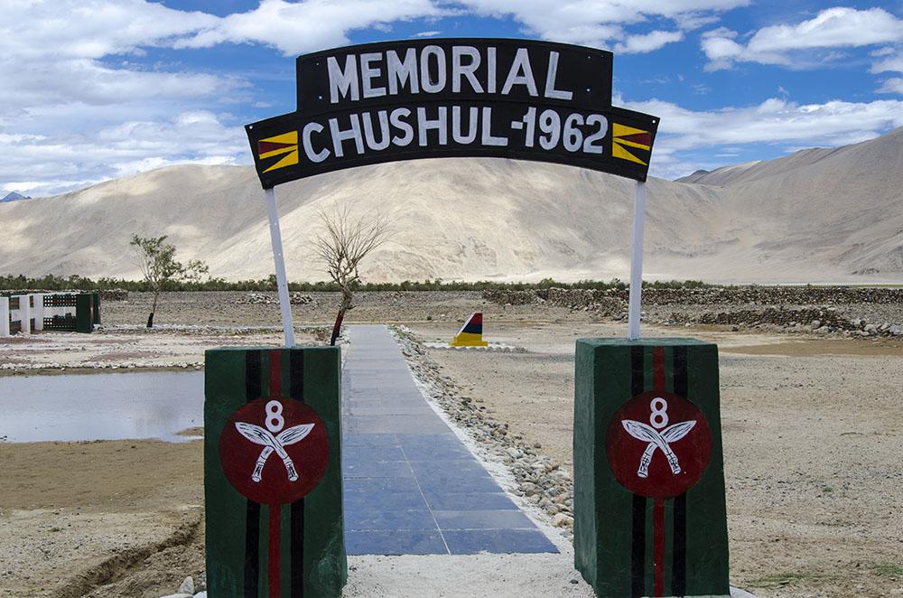 chushul war memorial