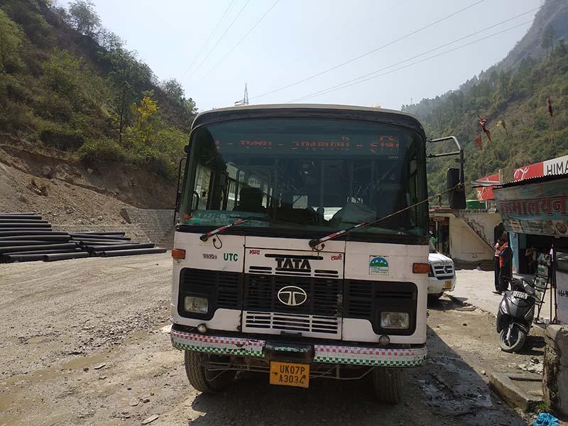 uttarakhand roadways bus