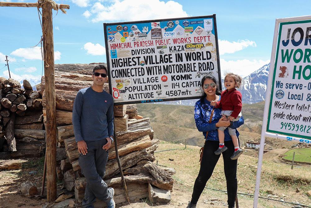 Komic - The highest village in the world