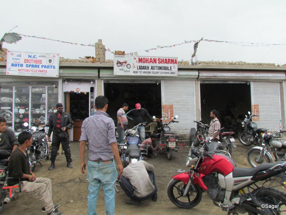 bike mechanics in leh city