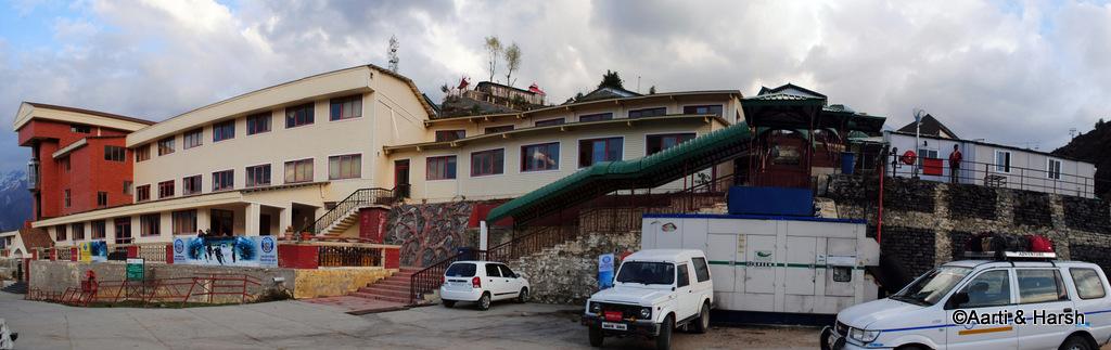 GMVN rest house at Auli