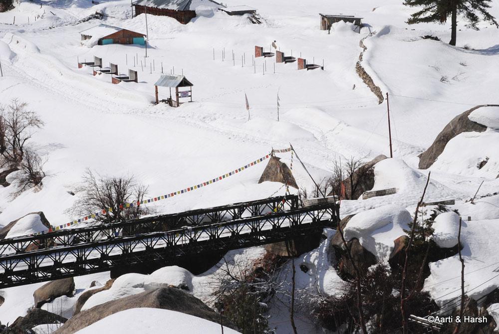 bridge over river Baspa