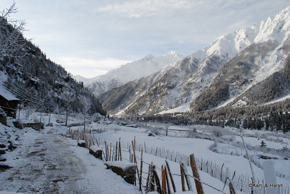 chitkul in march