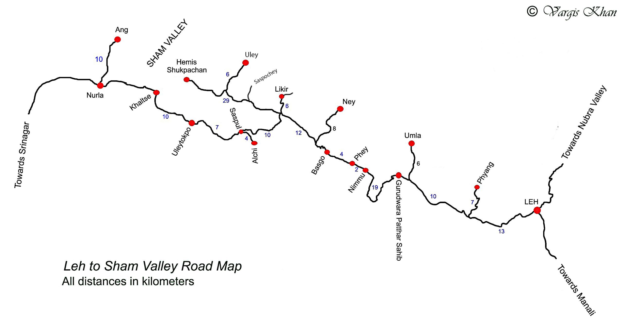 Sham Valley Map