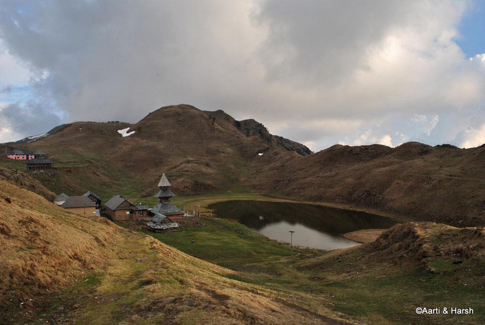 manali to prashar lake
